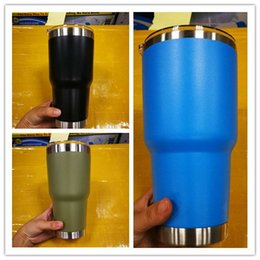 Wholesale Hot Colours - hot selling 9 colours 30oz stainless steel mugs 30oz style cups top quality with best price DHL fast free ship !