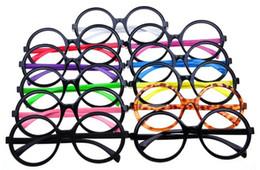 Uinsex Marco de gafas decorativas para mujeres hombres harry potter redondo Marco de gafas moda barato Marcos ópticos al por mayor desde fabricantes