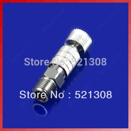 """Wholesale Airbrush Adapter Connecter - Free Shipping 3pcs lot Airbrush Quick Disconnect Release Coupling Adapter Connecter 1 8"""" Fittings Part order<$18no track"""