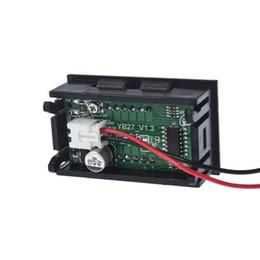 Wholesale Auto Meter Volt Gauge - Wholesale-IMC Wholesale Mini Digital Voltmeter 4.5-30V Red LED Auto Car Voltage Volt Panel Gauge Meter