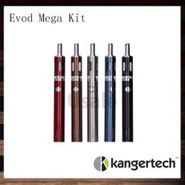 Wholesale E Cigarette Starter Kit Kanger - Kanger Evod Mega Express Kit 100% Original Kangertech Evod Mega E-cigarette Starter Kits With 2.5ml Atomizer 1900 mAh Battery