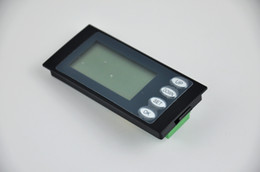 Wholesale Kwh Power Meter - Wholesale-Free shipping 1pcs 5 In 1 AC Digital LCD Power Meter Monitor Volt KWh Time Watt Energy Ammeter