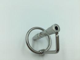 cathéter de tube d'urètre d'acier inoxydable Promotion Pénis Urethral Catheter Urethra Stretching Dilator Plug Fetish Dispositif de chasteté masculine Produits de sexe pour adultes Jouets JDA009