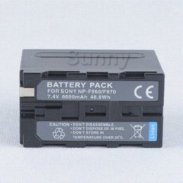 Wholesale Infolithium Batteries - attery Pack for Sony NP-F330, NP-F530,NP-F550,NP-F570,NP-F770, NP-F930,NP-F950,NP-F960, NP-F970, NP-F970 B InfoLITHIUM L Series battery p...