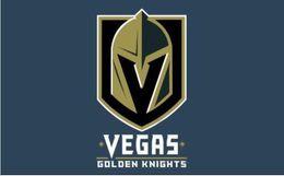 2019 konfetti silber großhandel Las Vegas Goldene Ritter Flagge Banner 150 CM * 90 CM 3 * 5FT Polyester Benutzerdefinierte Banner Sport Dekorative Flagge