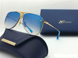 Wholesale Fine Packages - DECADE TWO limited edition luxury pilots fine metal new designers classic fashion lady brand sunglasses original packaging UV400
