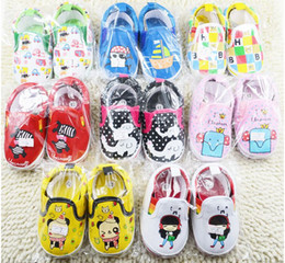 Wholesale China Wholesale Fallen Shoes - Wholesale multicolor children casual shoes!Cartoon toddler shoes,soft baby shoes,fall unisex single shoes,china walker shoes.12pairs 24pcs.C