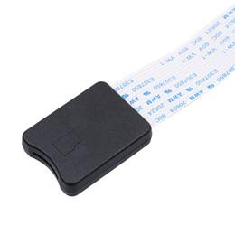 Cordon souple en Ligne-Vente en gros- 48CM TF à la carte micro SD Flex Extension câble Extender Adaptateur lecteur voiture GPS mobile Carte mémoire Extender Cord Linker