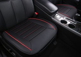 Wholesale Luxury Seat Covers For Cars - New Luxury PU Leather Car Seat Cover Pad Cover for Auto Seat Cushion Protection 1pcs