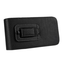 b20a853b0f7 EMS DHL Belt Clip Loop Hip Holster Leather Flip Pielcedan Phone Case and  Pouch for Samsung Galaxy Note 5