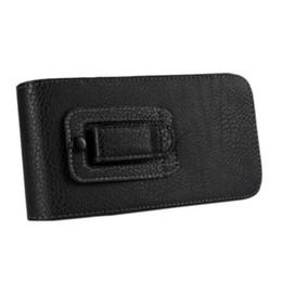 Clip flip cintura clip online-EMS / DHL Clip da cintura Loop Holster in pelle Flip Pielcedan Custodia per cellulare e custodia per Samsung Galaxy Note 5