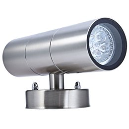Wholesale Super Lights For Sale - Hot Sale 1100Lm 10W 6 Led Super Bright Waterproof Wall Lamps For Yard Corridor Villas Parks Lighting Double Head Leds