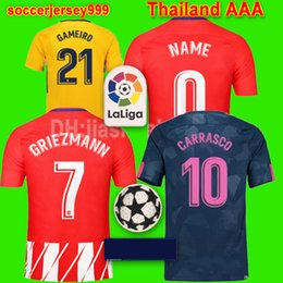 Wholesale Red Gold Kid - Thailand Soccer jersey 2017 2018 F.TORRES women kids player version GRIEZMANN KOKE GABI SAUL CARRASCO football shirt uniform chandal maillot