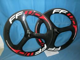Wholesale Tri Spoke Wheelset - 2015 3 spokes FFWD carbon road wheels tri-spoke carbon wheelset 700C Carbon wheel Clincher 5 spokes wheels also available 3 spokes