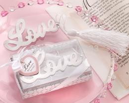 Deutschland Romantisches Hochzeitsgeschenk Edelstahlbookmark für Buchseiten-Halter-Neuheitbuchmarkierung stationäres Büromaterial 1202 # 02 Versorgung
