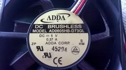 taiwan schalter Rabatt Neue Original Taiwan ADDA 6015 0,37A AD0605HB-D73GL 6 CM DC5V Schalter Fan