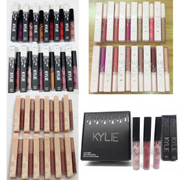 Wholesale Free Style Mix - Factory Direct New Makeup Lipgloss Kylie 12 Different Colors 4 styles By Kylie Cosmetics DHL Free Shipping