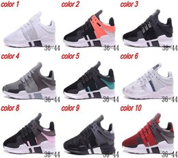 Wholesale Free Delivery Shoes - Free Delivery 2018 EQT SUPPORT ADV Primeknit hot sale high quality running shoes for men and women sports shoes sneakers size us 5-10