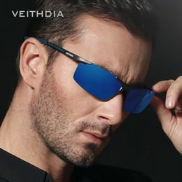 Wholesale Aluminum Magnesium Alloy Sunglasses - Aluminum Magnesium Men Sunglasses Polarized Mens Coating Mirror Driving Sun Glasses Eyewear uv400 Goggle 6588 Apparel and Accessories
