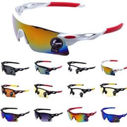 Wholesale Bike Design - Men Women Cycling Glasses Outdoor Sport Mountain Bike Bicycle Glasses Motorcycle Sunglasses Eyewear 12 design KKA3281