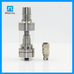 Wholesale Hummer China - Authentic Hummer TC RDA Atomizer Huge Vape 3ml Clearomizer Sub Ohm Tank Hummer Atomizer RDA China Factory Retail