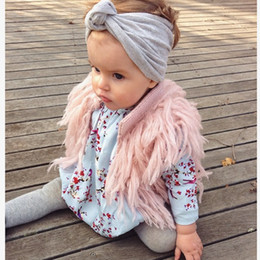 Wholesale Cardigan Childrens - HUG Me Childrens Kids Vest Girls Babys Sweater Waistcoat Tassels Cardigan Autumn Winter Fashion Coat Outerwear ZZ-798