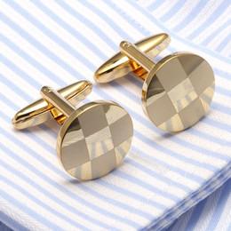 gemelli lampeggianti Sconti Gemelli di collegamento di polsino per i gemelli di modo dei gemelli Gemelli di lusso del progettista gemelli classici di cerimonia nuziale della camicia semplice degli uomini semplici