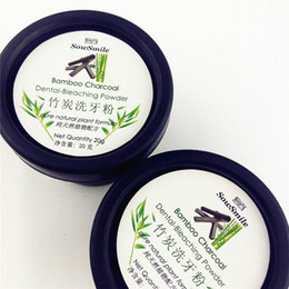 Wholesale Wholesale Powdered Bleach - Teeth Whitening Powder Nature Bamboo Activated Charcoal Smile Powder Tooth Yellow Stain Bamboo Charcoal Dental Bleaching Powder