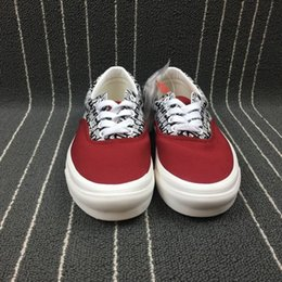 Wholesale X Lover - 2018 New MATTYBOY the top quality MEN Women Casual Shoes Fashion Fear of God x Vault by VAN Casual lovers Canvas shoes size:36-44