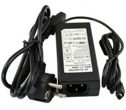 Impressora de energia on-line-Adaptador de fonte de alimentação AC DC 24V 3A 5A 6A 120 W Transformador para LED Light Strip Monitor Printer + Cabo de alimentação