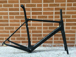 Wholesale Carbon Road Frames Time - 3 days delievery time taiwan made newest design model black color FACTOR O2 carbon road bike frame bicycle frameset bike free shipping ems