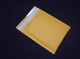 Wholesale Kraft Bubble Envelope Mailer Bag - Wholesale-10pcs 130*130+40mm Small Kraft Bubble Bag Padded Envelopes Mailers Shipping Mailling Mail Bags