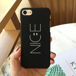 Wholesale Trends Mobile Phone Case - Simple small fresh face scrub trend mobile phone shell letters for iPhone 5 5s 6 6s 6plus 6splus 7 7plus 8plus