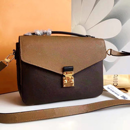 Wholesale Brown Phone - Wholesale New orignal real genuine leather lady messenger bag fashion satchel shoulder bag handbag presbyopic package mobile phone purse