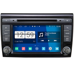 Wholesale Dvd Gps Fiat Bravo - Winca S160 Android 4.4 System Car DVD GPS Headunit Sat Nav for Fiat Bravo 2007 - 2012 with Wifi Radio Video Stereo Tape Recorder