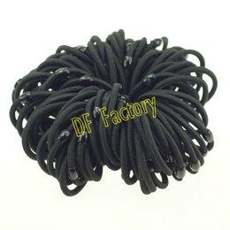 Wholesale Girls Beat - JZ102 Competitive Beat Quality Black Hair Bands Ponytail Holder Wholesale Hair Accessories (100pcs lot