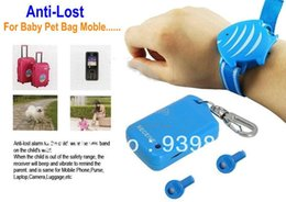 Wholesale Baby Prevent Lost - Bag Anti-lost Theft Baby Tracker Child Monitor Anti Lost Pet Reminder Alarm Security Gift Prevent Stolen Child Baggage