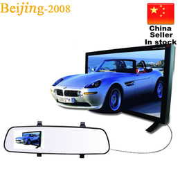 Wholesale Branded Memory - 2016 Brand New 2.8'' 1080P HD Rearview Mirror LCD DVR Car DVR Dash Cam Video Recorder Rearview Mirror 5V 010228