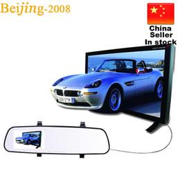 Grabadora de video online-2016 Nuevo 2.8 '' 1080 P HD Espejo Retrovisor LCD DVR Coche DVR Dash Cam Grabador de Vídeo Espejo Retrovisor 5 V 010228