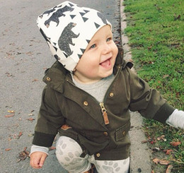 Wholesale Cute Kids Beanies - 2016 New Winter Warm Cotton Cute Toddler Kids Girl Boy Baby Infant Crochet Knit Hat Cap Beanies Accessories ho23