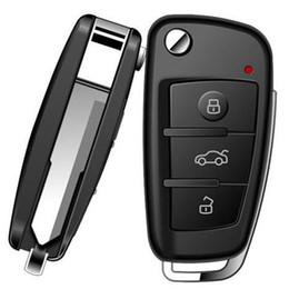 Wholesale Key Chain Night Vision - HD Car Key Chain Spy Hidden Mini DVR Camera Motion Detect IR Night Vision VC327001 Black