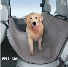 Wholesale Big Dog Seat - Wholesale-Free Shipping Huge Dogs Seat Covers Cats Pets Cars Mats Big Pads 4 buckles Belts Waterproof large 145x145cm