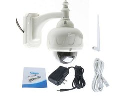 Wholesale Ip Optical - 1pcs 720p Surveillance camera,P2P IP, 3X OPTICAL ZOOM,Outdoor Waterproof,CMOS Security network Support the WPS function,TF card