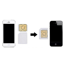 Wholesale Galaxy S3 Sim - Wholesale-4 in 1 Nano Sim Card Adapters+Micro Sim +Stander Sim Card SIM Card & Tools For iPhone 4 4S 5 5S 5C  Galaxy S3 4 With Retail