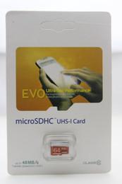 Wholesale High Speed 64gb Sd Card - Hot DHL 128GB 64GB Class 10 Micro SD card gift mini micro SDHC UHS-1 High speed TF Card 70PCS