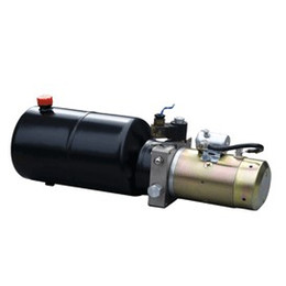 Wholesale Hydraulic Cylinder Standard - manufacture factory 12vdc hydraulic power packing unit for car fork lift table hydraulic gear pumping motor single cylinder 3