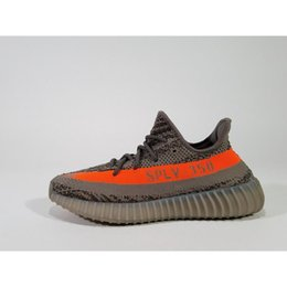 Wholesale Table Tennis Footwear - BB1826 Beluga 350 Boost V2 Men Women Outdoor Shoes Kanye West 350v2 Boost With Box High Quality Beluga Kids Footwear Size8