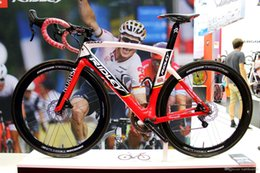 Wholesale Complete Road - Ridley Carbon Complete Road Bike Lotto Soudal Team Full Carbon Road Bike Bicycle With Ultegra R8000 Groupset For Sale wheelset a01
