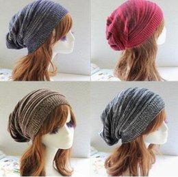 Wholesale Thin Cotton Winter Hat - Winter Caps for Ladies Women Autumn Winter Casual Solid Color Casual Thin Cotton Hats For Teens Women Adult Caps Diamonds Top Quality