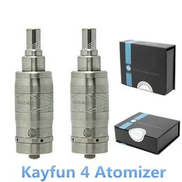 Wholesale New Arrivals Electronic Cigarettes - NEW Arrival Electronic Cigarette Kayfun V4 Atomizer RDA with 510 Connector Adjustable Airflow Control Clearomizer